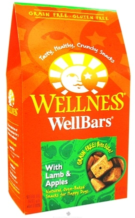 DROPPED: Wellness Pet - WellBars Dog Treats Lamb & Apples - 20 oz. CLEARANCE PRICED