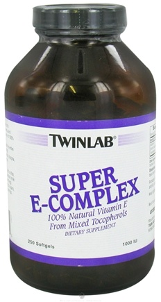 DROPPED: Twinlab - Super E-Complex 1000 IU - 250 Softgels