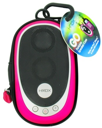 Zoom View - HMDX Go Portable Speaker Case HX-GO3PKA