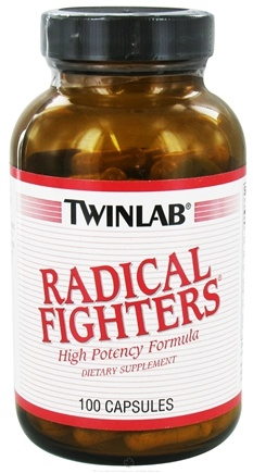 DROPPED: Twinlab - Radical Fighters - 100 Capsules CLEARANCE PRICED