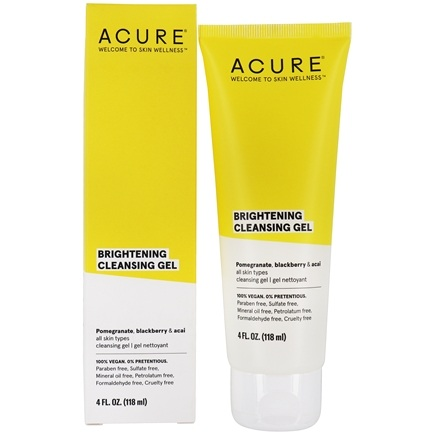 ACURE - Facial Cleansing Gel Superfruit + Chlorella Growth Factor - 4 oz.