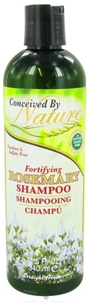 DROPPED: Conceived By Nature - Shampoo Fortifying Rosemary - 11.5 oz. CLEARANCE PRICED