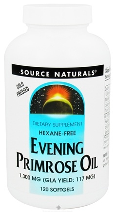 DROPPED: Source Naturals - Evening Primrose Oil 1300 mg. - 120 Softgels