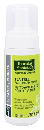 DROPPED: Thursday Plantation - Tea Tree Face Wash Foam Step 1 Cleanse - 5.1 oz.