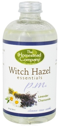 DROPPED: The Homestead Company - Witch Hazel Essentials PM Lavender & Chamomile - 8 oz. CLEARANCE PRICED