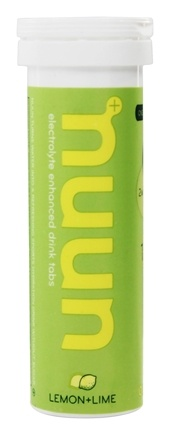 DROPPED: Nuun - Electrolyte Enhanced Drink Tabs Lemon + Lime - 12 Tablets