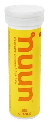 DROPPED: Nuun - Electrolyte Enhanced Drink Tabs Orange - 12 Tablets