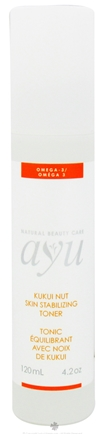 DROPPED: AYU Natural Beauty Care - Toner Skin Stabilizing Kukui Nut - 4.2 oz. CLEARANCE PRICED