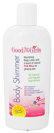 Zoom View - Natural Body Shimmer Lotion