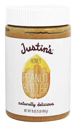 DROPPED: Justin's Nut Butter - Peanut Butter Blend Honey - 16 oz.