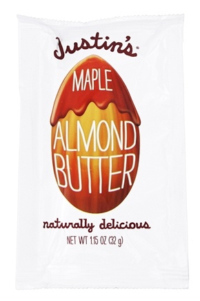 Justin's Nut Butter - Almond Butter Squeeze Pack Maple - 1.15 oz.