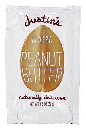 Justin's Nut Butter -  Peanut Butter Squeeze Pack Classic - 1.15 oz.