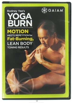 DROPPED: Gaiam - Rodney Yee's Yoga Burn DVD - CLEARANCE PRICED
