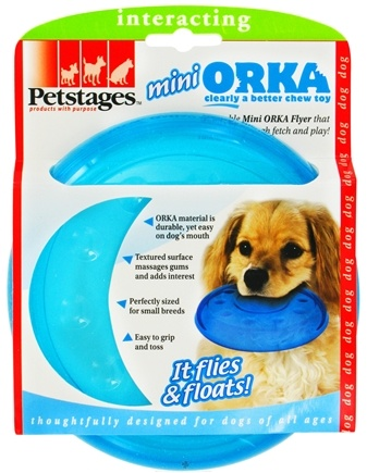 DROPPED: Petstages - Orka Mini Flyer Dog Toy - CLEARANCE PRICED
