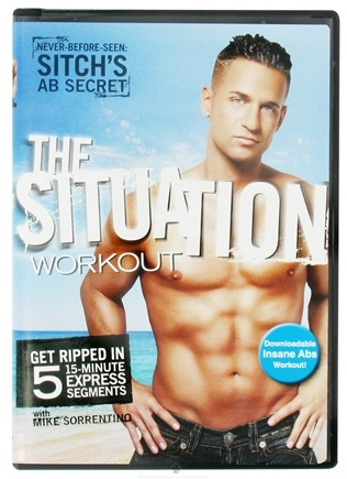DROPPED: Gaiam - The Situation Workout with Mike Sorrentino DVD - CLEARANCE PRICED