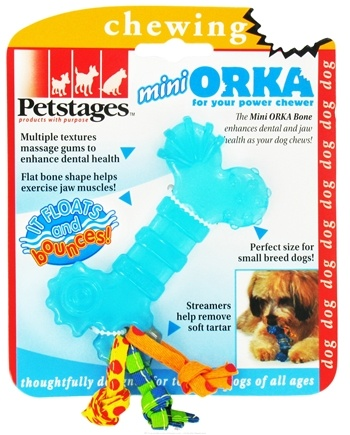 DROPPED: Petstages - Orka Mini Bone Dog Toy - CLEARANCE PRICED