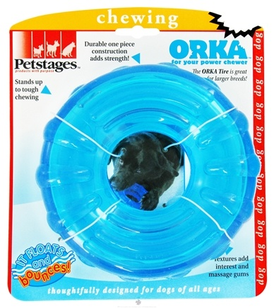 DROPPED: Petstages - Orka Tire Dog Toy - CLEARANCE PRICED