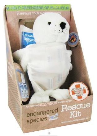 DROPPED: Health Science Labs - Endangered Species Rescue Kit All Purpose First Aid Kit Harp Seal - 73 Piece(s) CLEARANCE PRICED