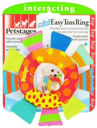 DROPPED: Petstages - Mini Easy Toss Ring Dog Toy - CLEARANCE PRICED