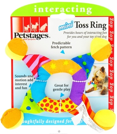 DROPPED: Petstages - Mini Toss Ring Dog Toy - CLEARANCE PRICED