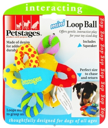 DROPPED: Petstages - Mini Loop Ball Dog Toy - CLEARANCE PRICED