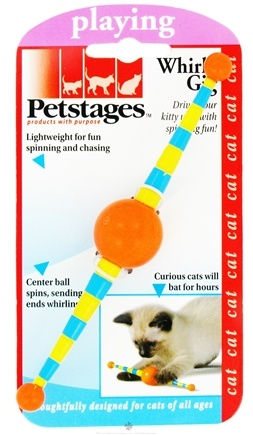 DROPPED: Petstages - Whirly Gig Cat Toy - CLEARANCE PRICED