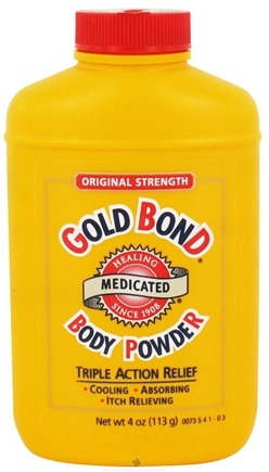 DROPPED: Gold Bond - Body Powder Medicated Original Strength - 4 oz. CLEARANCE PRICED