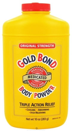 DROPPED: Gold Bond - Body Powder Medicated Original Strength - 10 oz. CLEARANCE PRICED