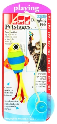 DROPPED: Petstages - Catnip Dangling Fish Cat Toy