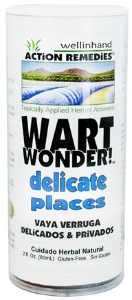 DROPPED: Wellinhand - Wart Wonder Delicate Places - 2 oz. CLEARANCE PRICED
