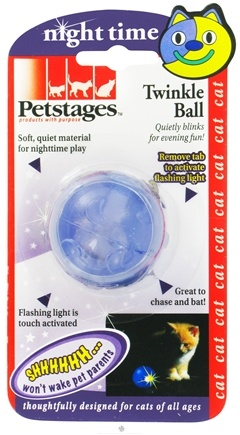 DROPPED: Petstages - Twinkle Ball Cat Toy