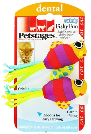 DROPPED: Petstages - Catnip Fishy Fun Cat Toy - CLEARANCE PRICED