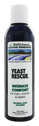 Wellinhand - Yeast Rescue Soap Soother Intimate Comfort - 6 oz.