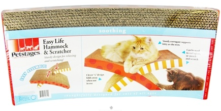 DROPPED: Petstages - Easy Life Hammock & Scratcher For Cats