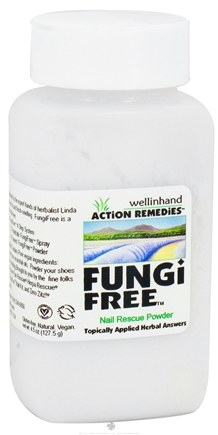 DROPPED: Wellinhand - Fungi Free Nail Rescue Powder Step 4 Prevent - 4.5 oz. CLEARANCE PRICED