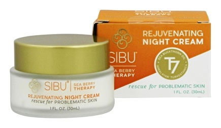 DROPPED: Sibu Beauty - Rejuvenating Night Cream - 1 oz.