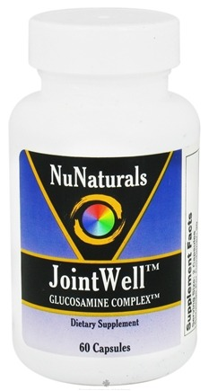 DROPPED: NuNaturals - JointWell Glucosamine Complex - 60 Capsules