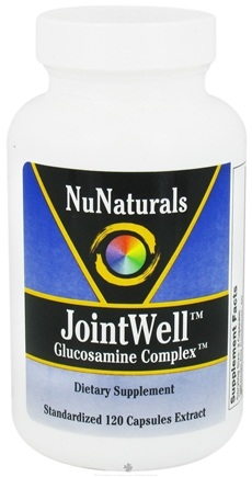 DROPPED: NuNaturals - JointWell Glucosamine Complex - 120 Capsules