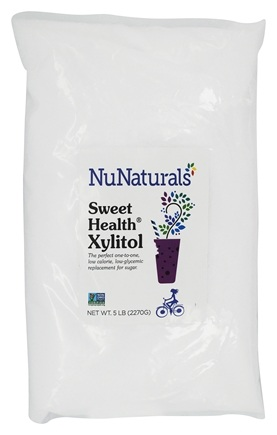 NuNaturals - Pure Xylitol Crystals - 5 lbs.