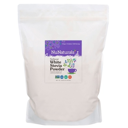 Zoom View - NuStevia White Stevia Powder