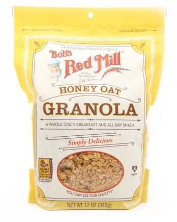 DROPPED: Bob's Red Mill - Granola Original Whole Grain Honey Oat - 12 oz. CLEARANCE PRICED