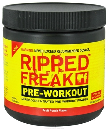 Zoom View - Ripped Freak Pre-Workout