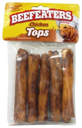 DROPPED: Beefeaters - Chicken Tops Rolls Dog Treats - 5 Pack