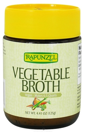 DROPPED: Rapunzel - Vegetable Broth Vegan - 4.41 oz.