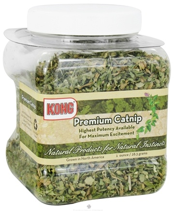 DROPPED: Kong - Naturals Premium Catnip - 1 oz. CLEARANCE PRICED