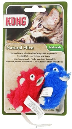 Zoom View - Naturals Mice Catnip Cat Toy