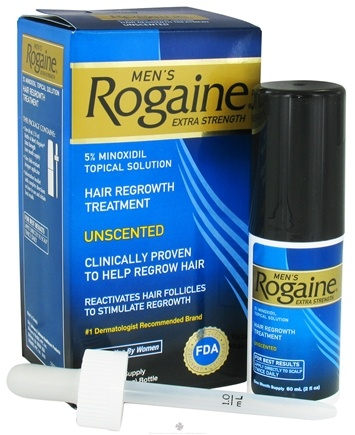 DROPPED: Rogaine - Men's Extra Strength Hair Regrowth Treatment Unscented One Month Supply - 2 oz. CLEARANCE PRICED