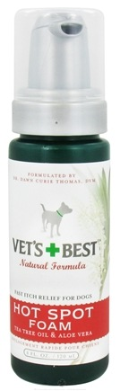 DROPPED: Vet's Best - Hot Spot Foam - 4 oz. CLEARANCE PRICED