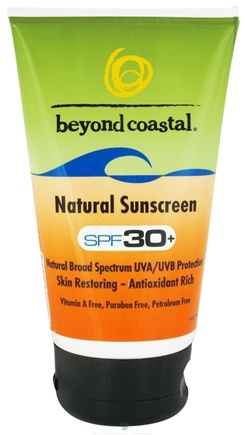 DROPPED: Beyond Coastal - Sunscreen Natural 30 SPF - 4 oz. CLEARANCE PRICED