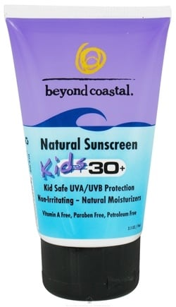 DROPPED: Beyond Coastal - Sunscreen Natural Kids 30 SPF - 2.5 oz.
